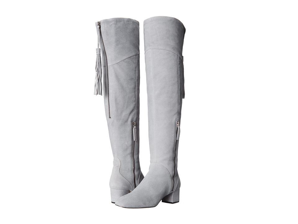 Nine West Anilla Grey Suede Boots