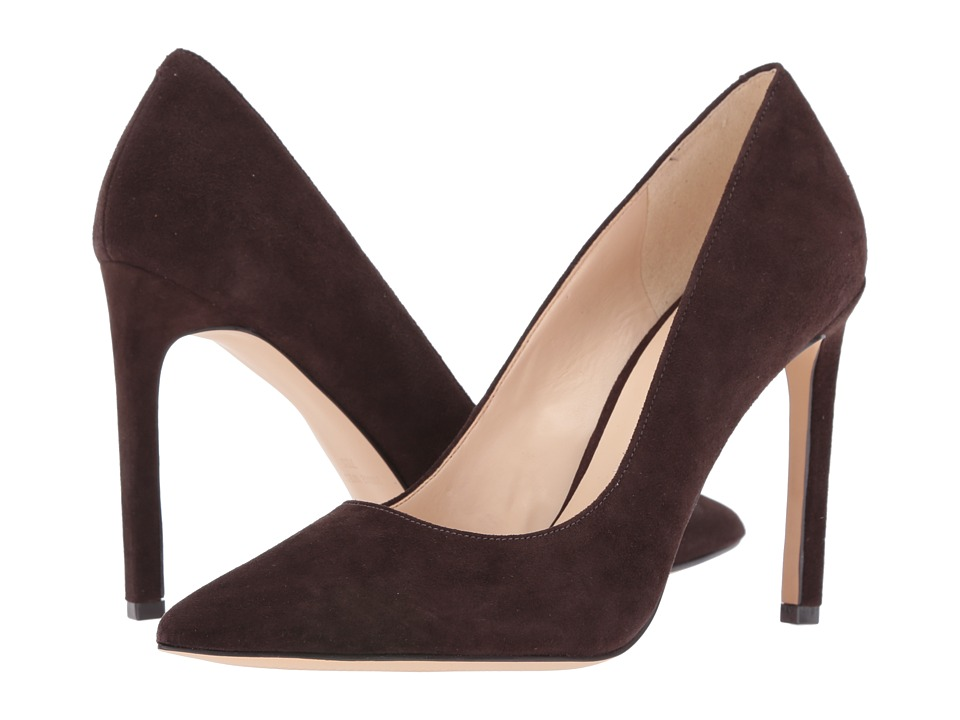 Nine West - Tatiana (Dark Brown Suede 1) High Heels