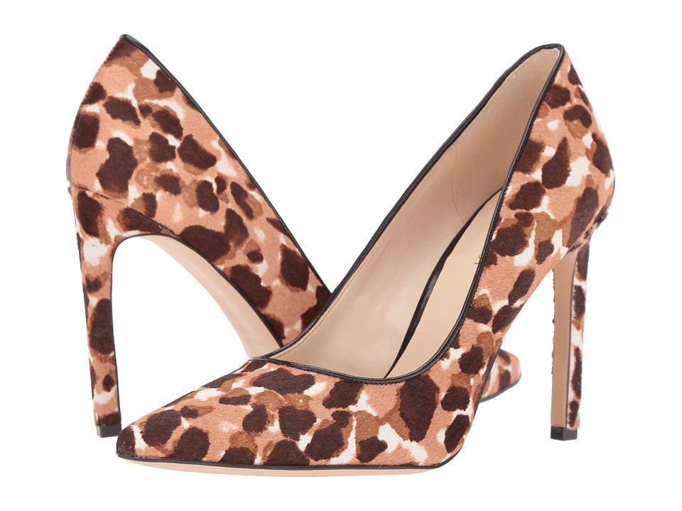 Nine West - Tatiana 5 (Natural Multi/Dark Brown Pony) Women's Shoes