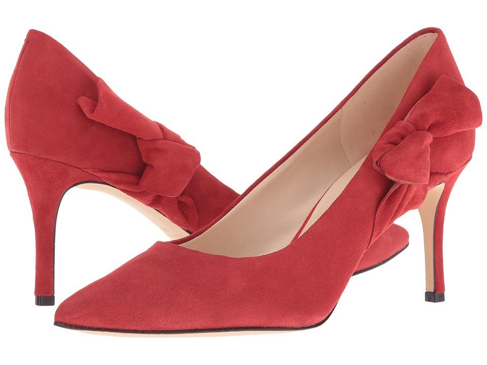 Nine West - Melliah (Red Suede) High Heels
