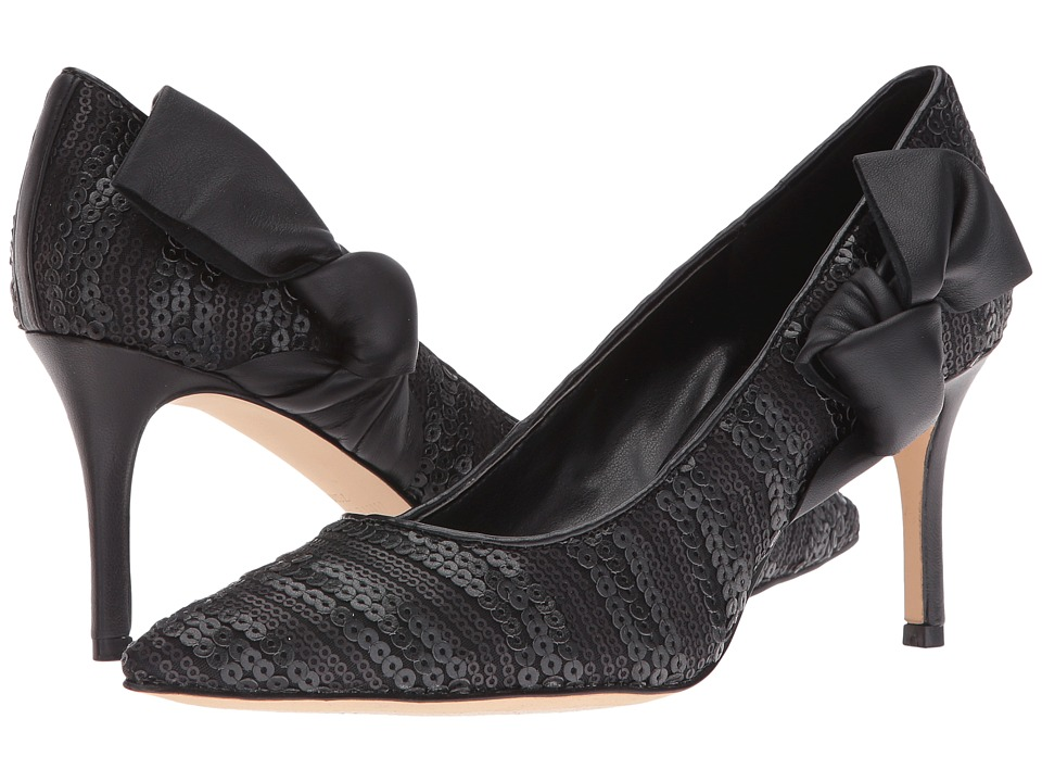 Nine West - Melliah 2 (Black Multi Fabric) High Heels