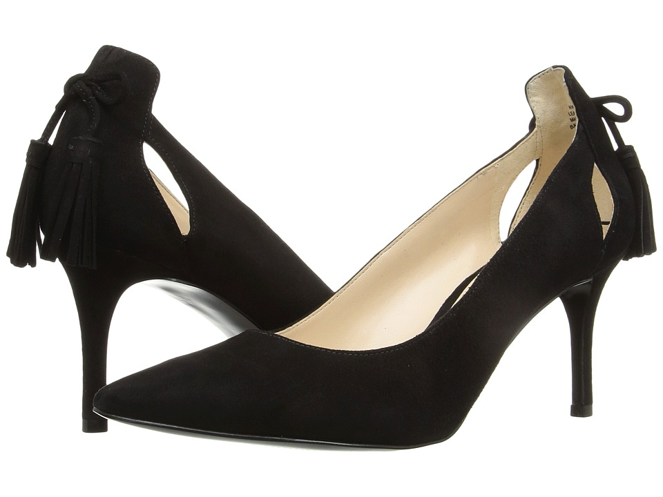 Nine West - Modesty (Black Suede) Women's Shoes