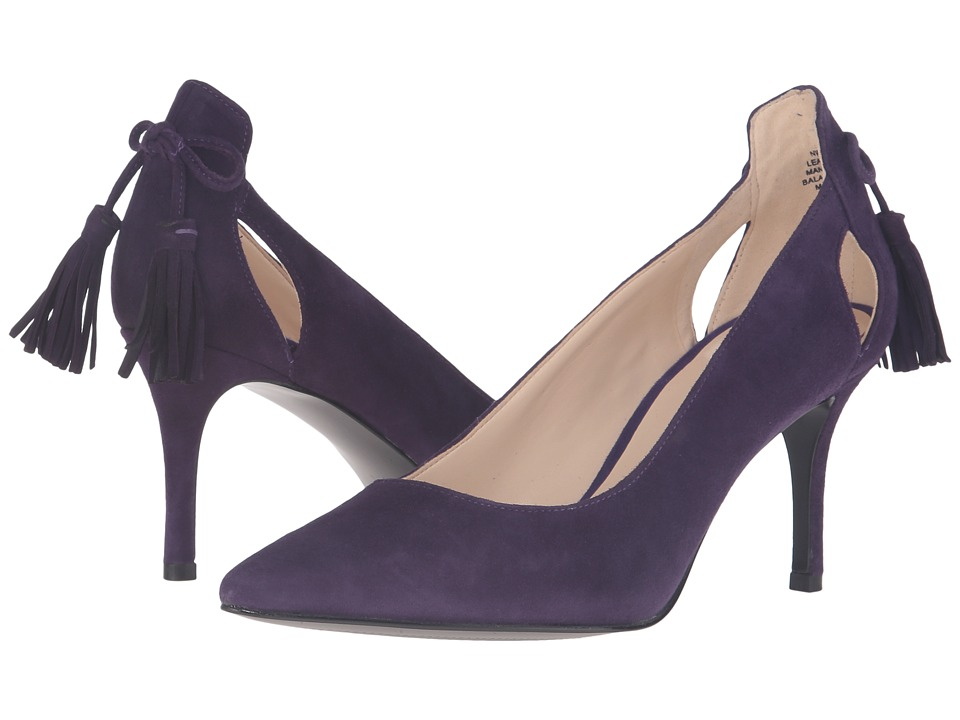Nine West - Modesty (Dark Purple Suede) Women's Shoes