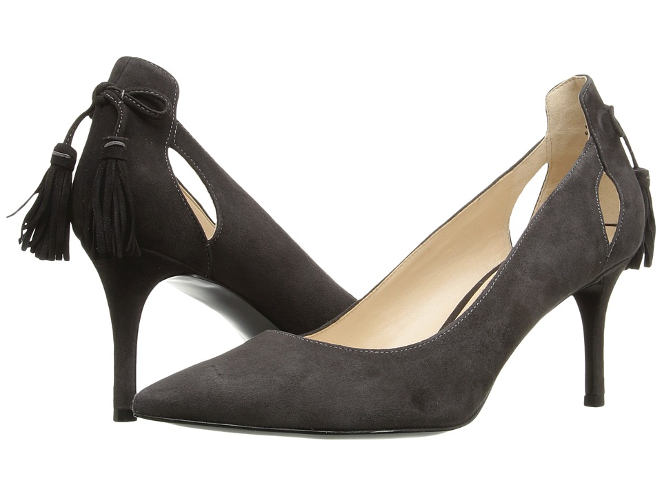 Nine West - Modesty (Dark Grey Suede) Women's Shoes