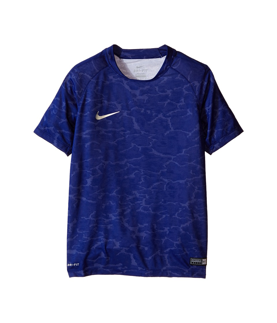 Nike Kids - Flash CR7 Soccer Shirt (Little Kids/Big Kids) (Deep Royal Blue/Silver) Boy's Clothing