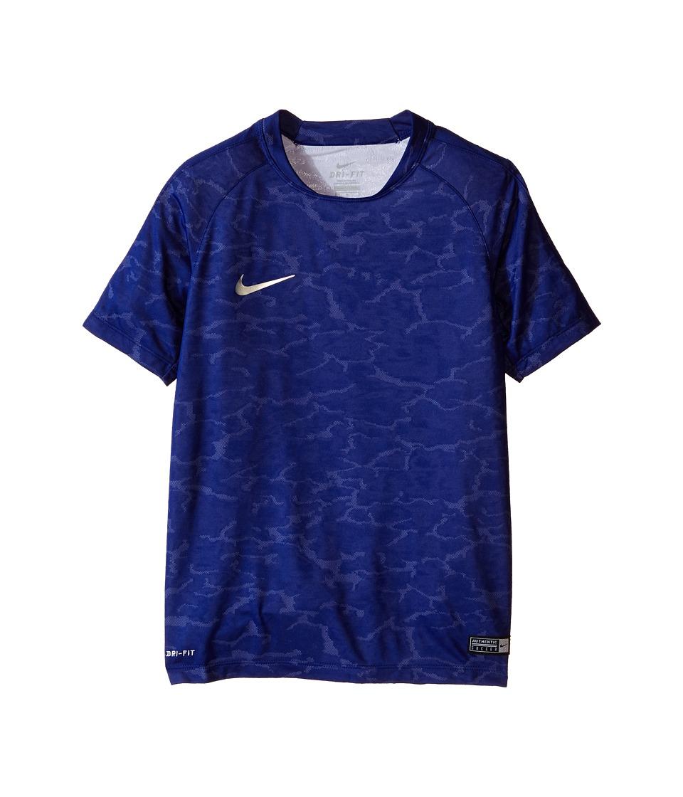 Nike Kids - Flash CR7 Soccer Shirt (Little Kids/Big Kids) (Deep Royal Blue/Silver) Boy's Clothing