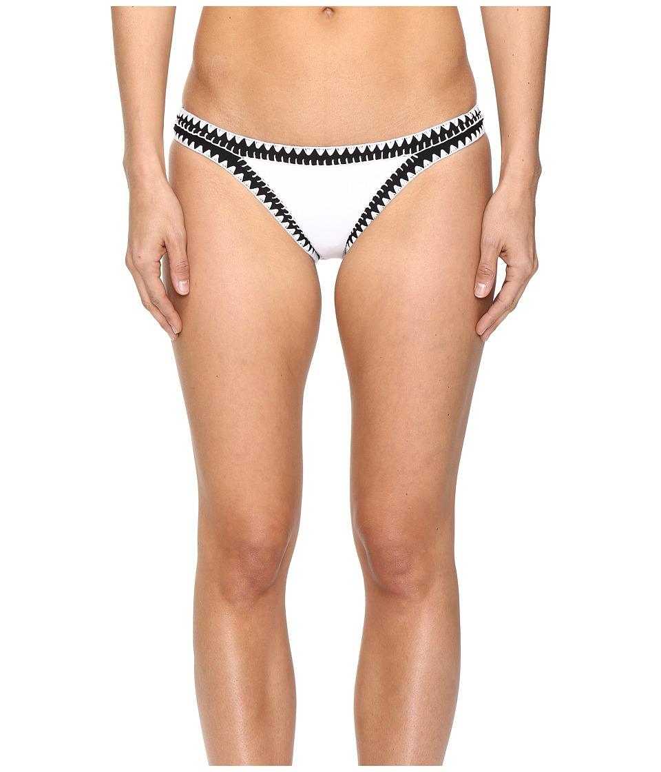 Seafolly - Summer Vibe Hipster Bottoms (White) Women's Swimwear