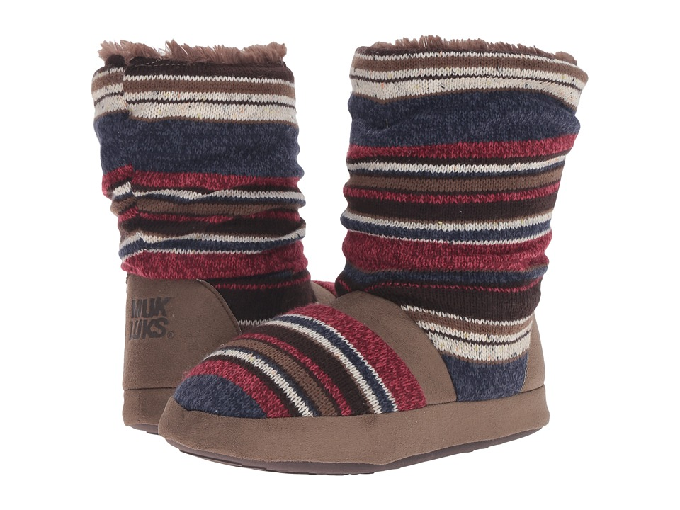 MUK LUKS - Jenna Slipper (Americana) Women's Slippers