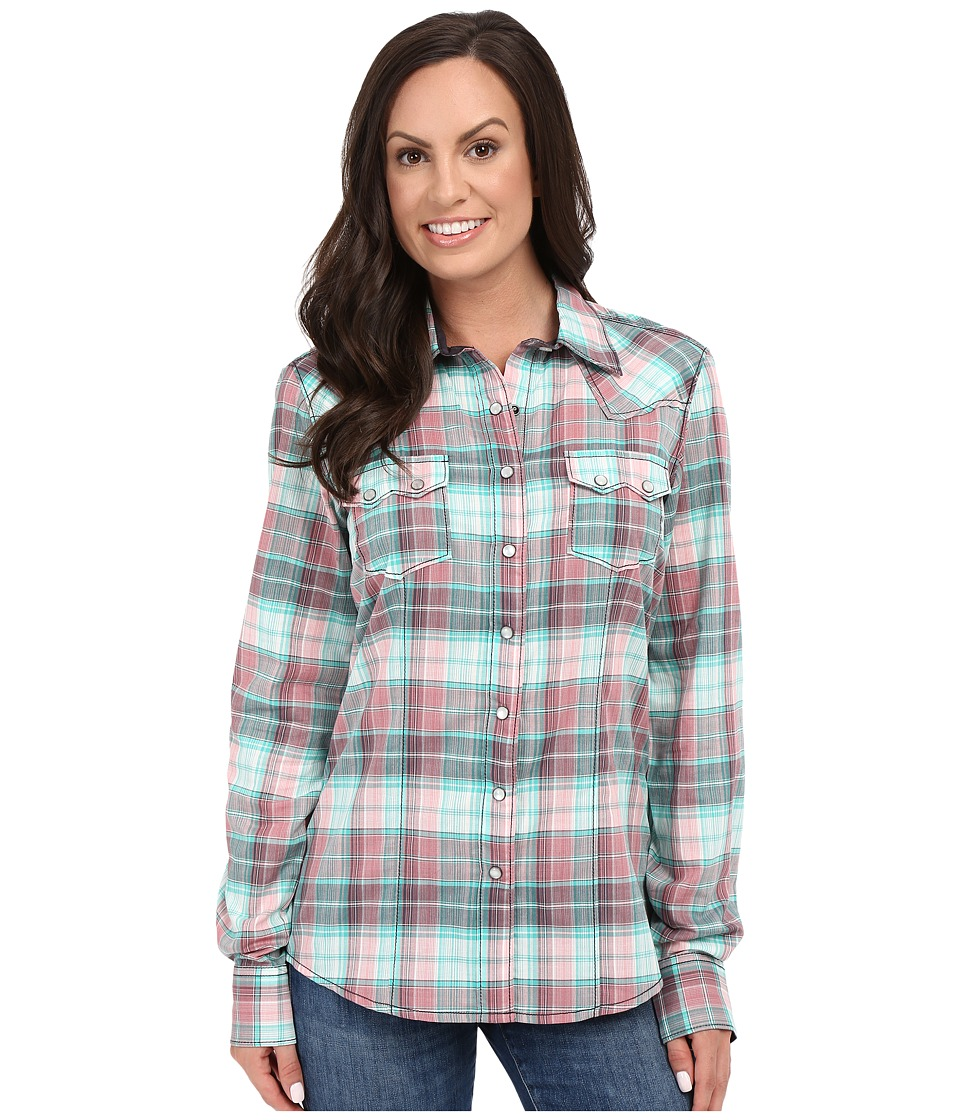 Cruel - Arena Long Sleeve Yarn Dyed Plaid (Assorted) Women's Clothing