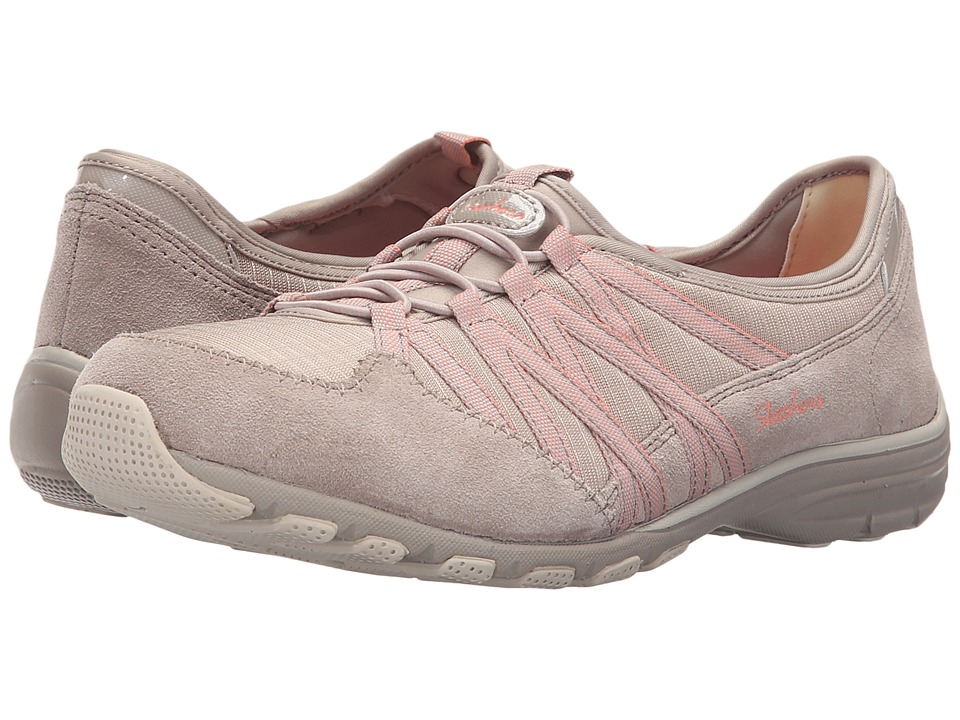 SKECHERS - Holding Aces (Taupe) Women's Shoes