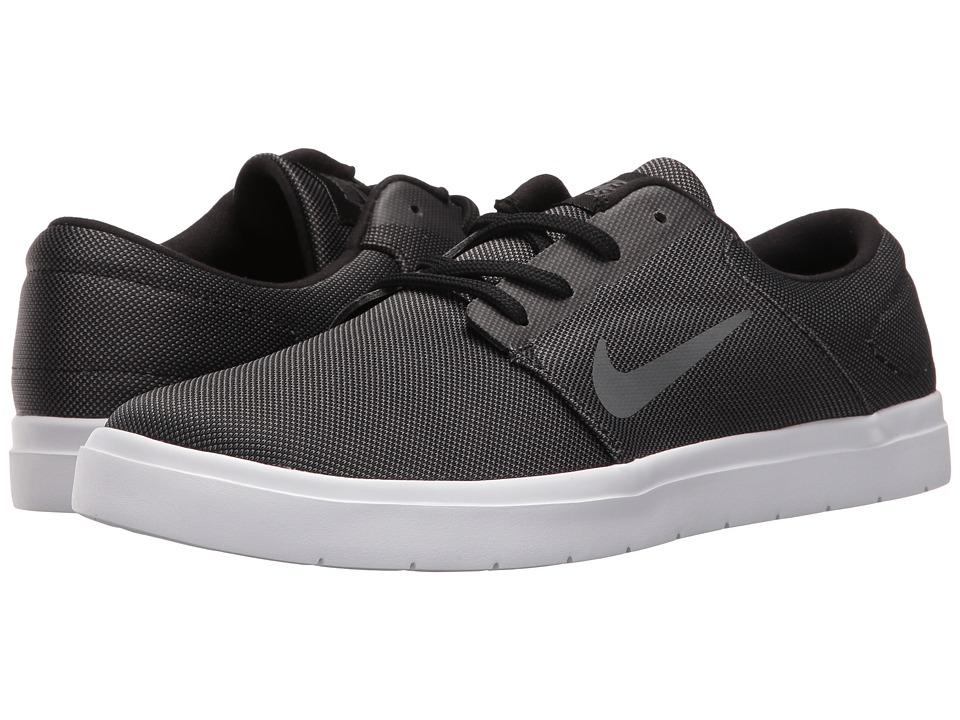 Nike SB Portmore Ultralight Canvas (Black/Dark Grey) Men