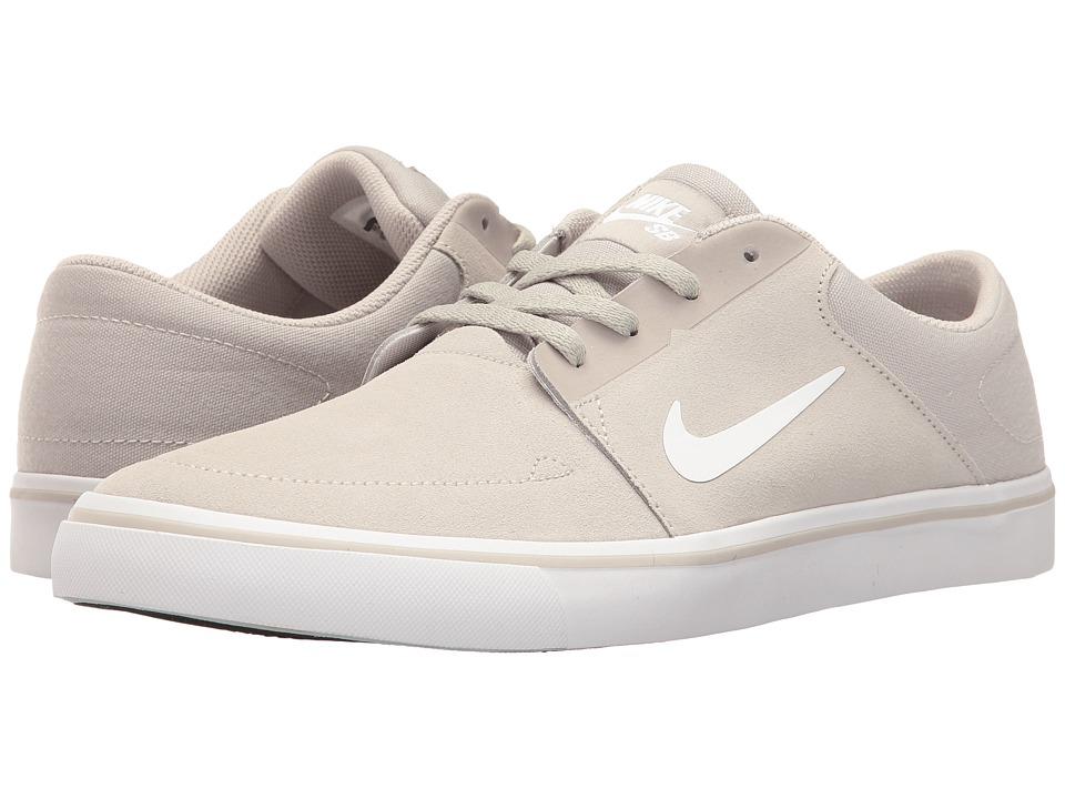 Nike SB Portmore (Pale Grey/White) Men