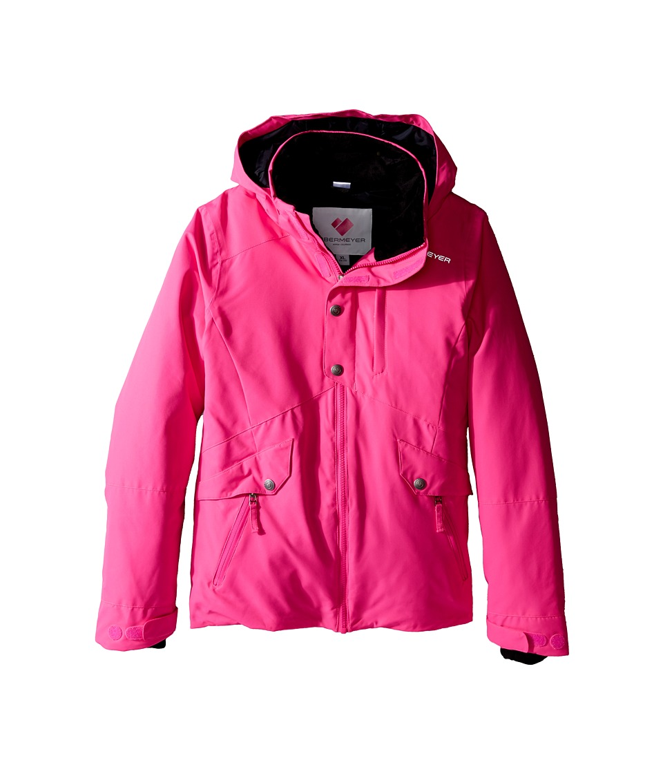 Obermeyer Kids - Kenzie Jacket (Little Kids/Big Kids) (Electric Pink) Girl's Coat