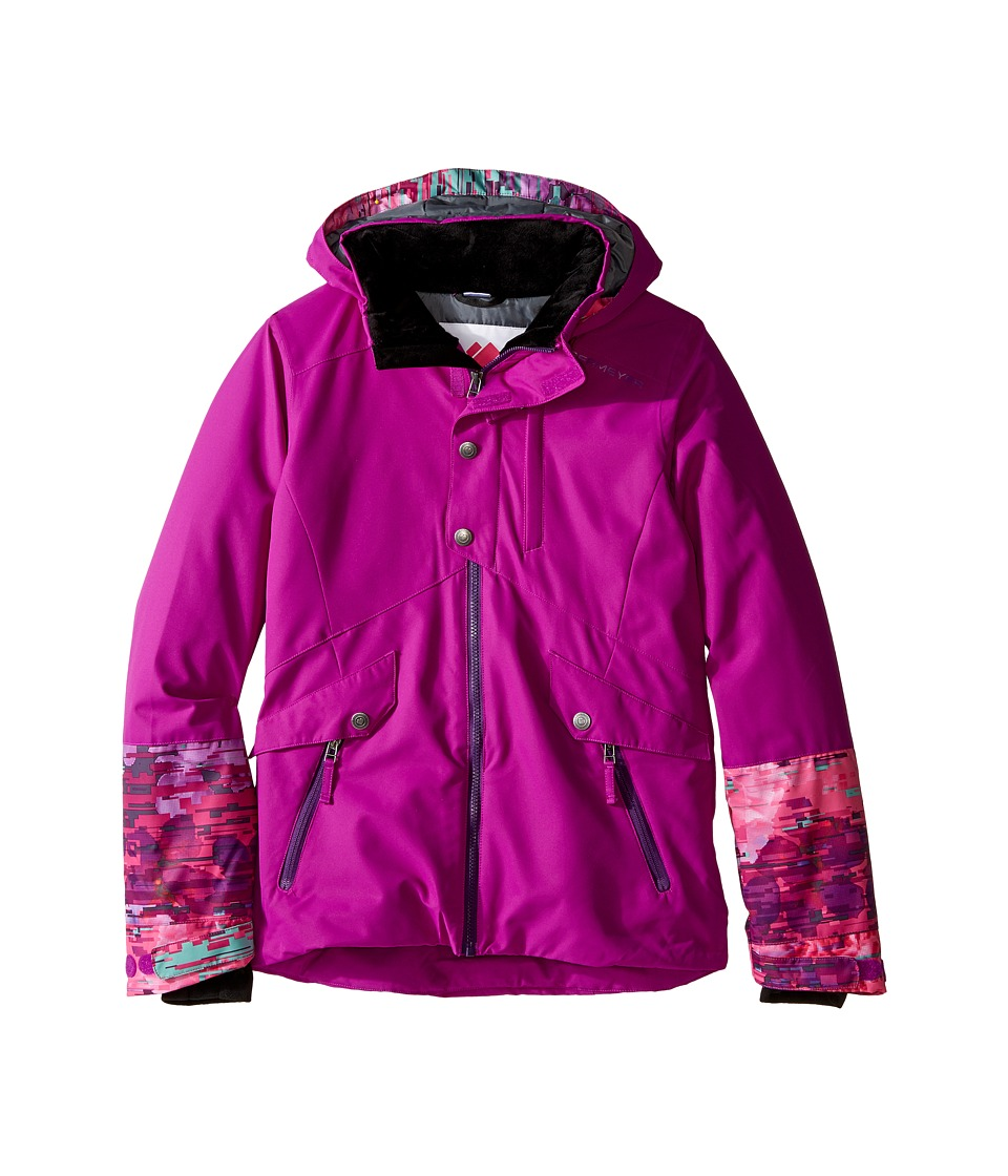 Obermeyer Kids - Kenzie Jacket (Little Kids/Big Kids) (Violet Vibe) Girl's Coat