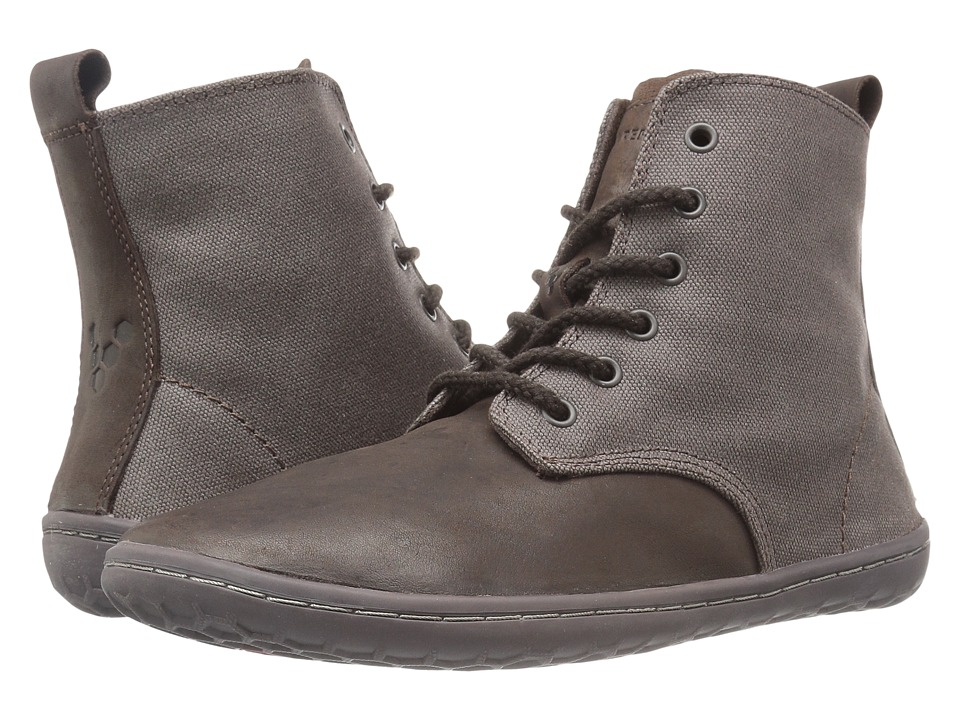 Vivobarefoot - Scott (Dark Brown Hyde) Men's Shoes