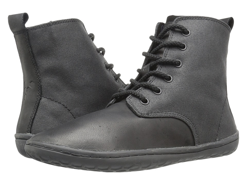 Vivobarefoot - Scott (Black Hyde) Men's Shoes