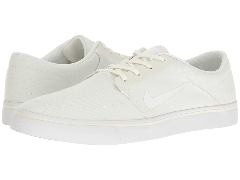 Nike SB Portmore Canvas (Sail/White) Men