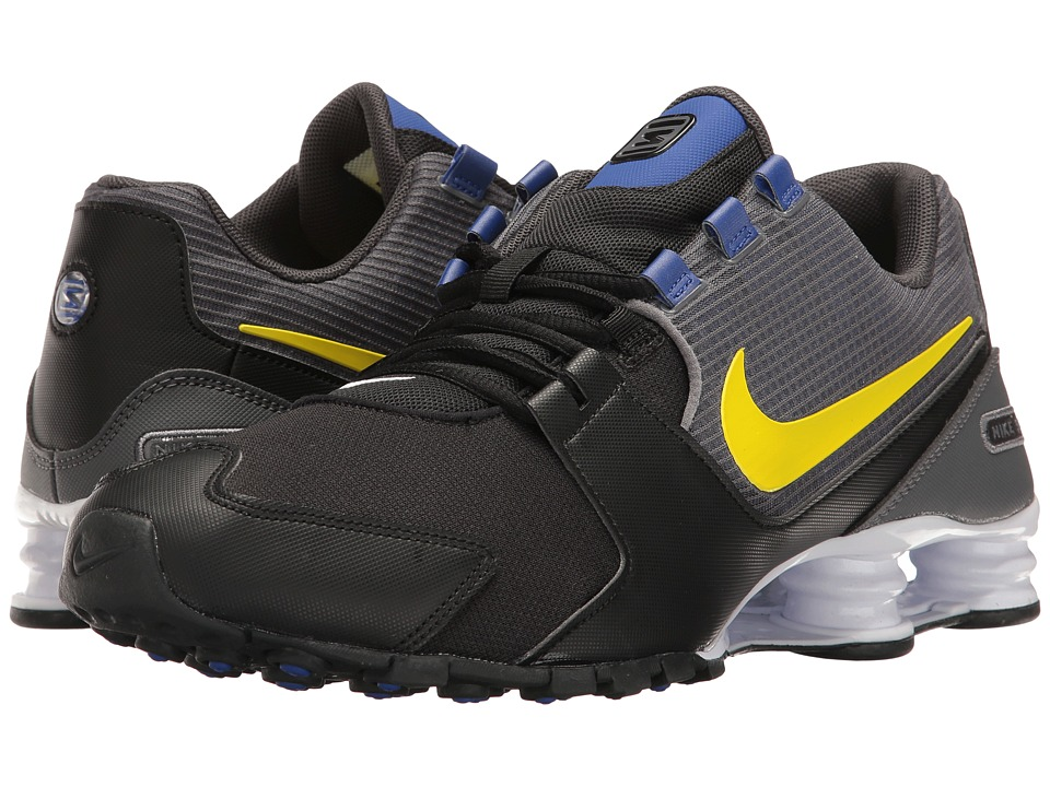 Nike Shox Avenue (Black/Paramount Blue/Dark Grey/Eletrolime) Men