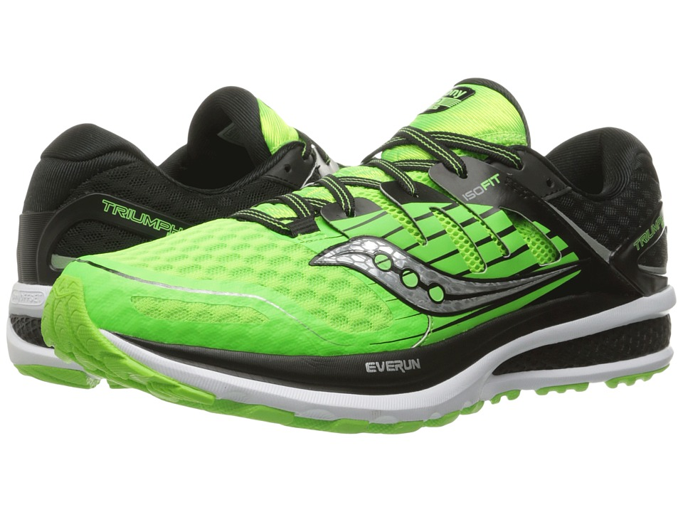 Saucony - Triumph ISO 2 (Slime/Black) Men's Shoes