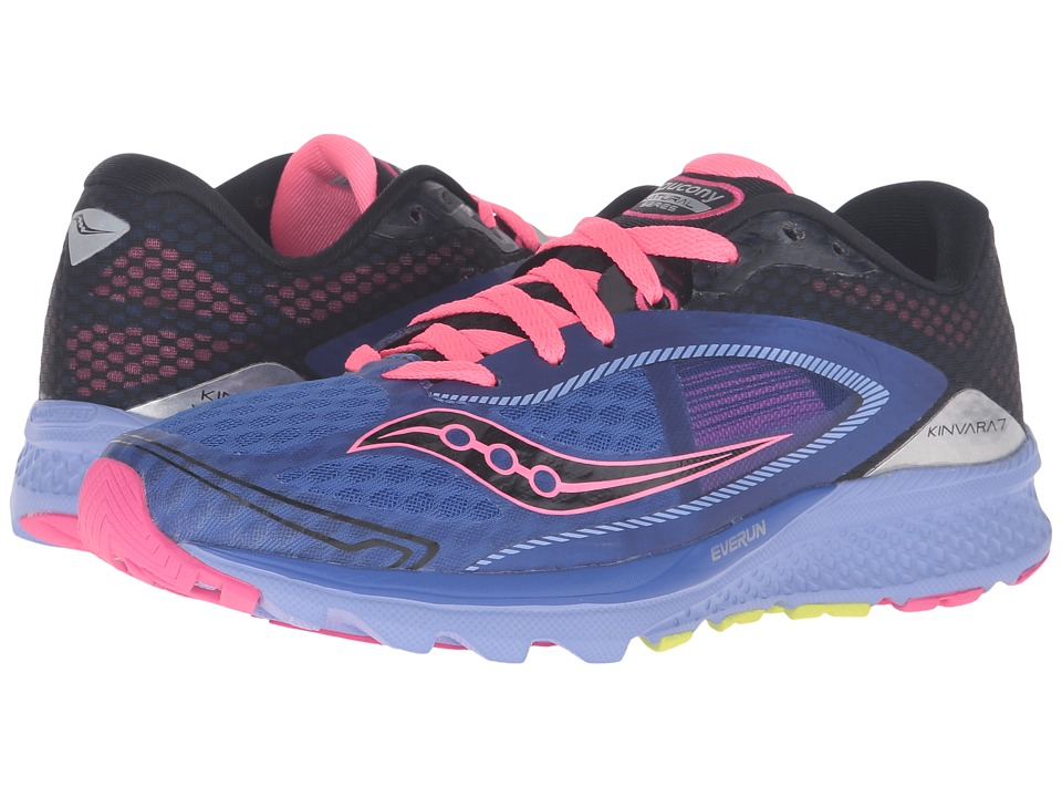 Saucony - Kinvara 7 (Purple/Black/Pink) Women's Shoes