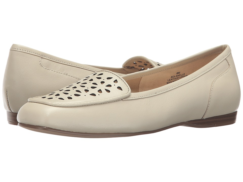Bandolino - Lanelle (Off-White Leather) Women's Slip on Shoes