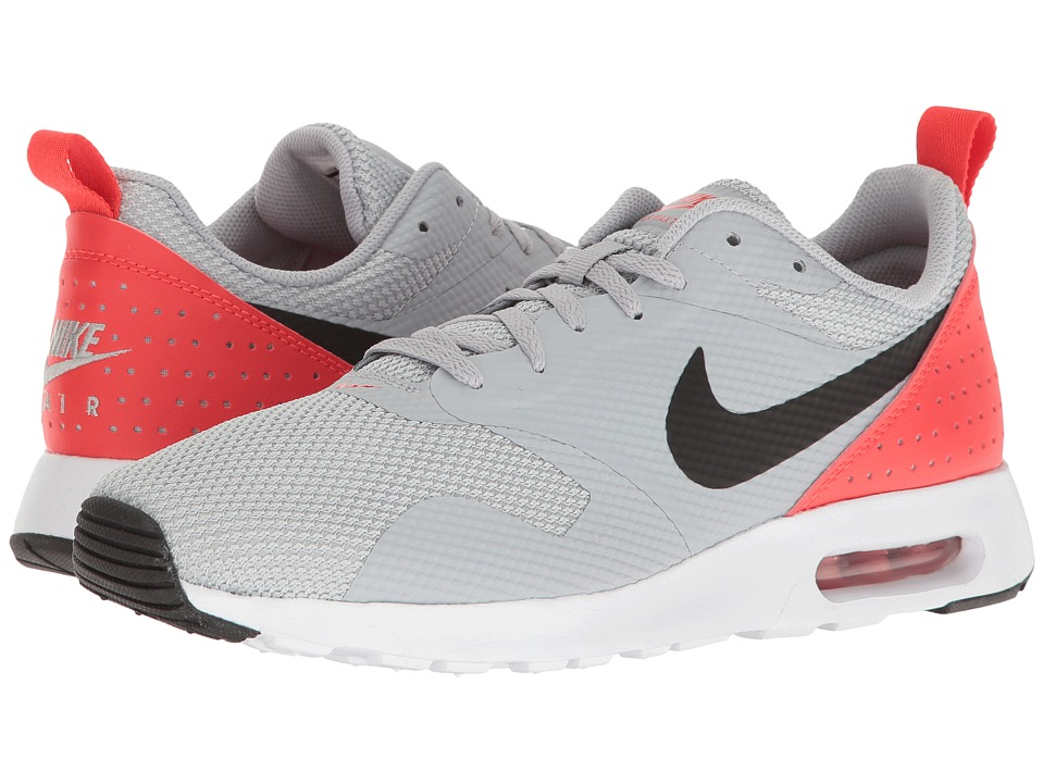 Nike - Air Max Tavas (Wolf Grey/Max Orange/Black) Men's Shoes
