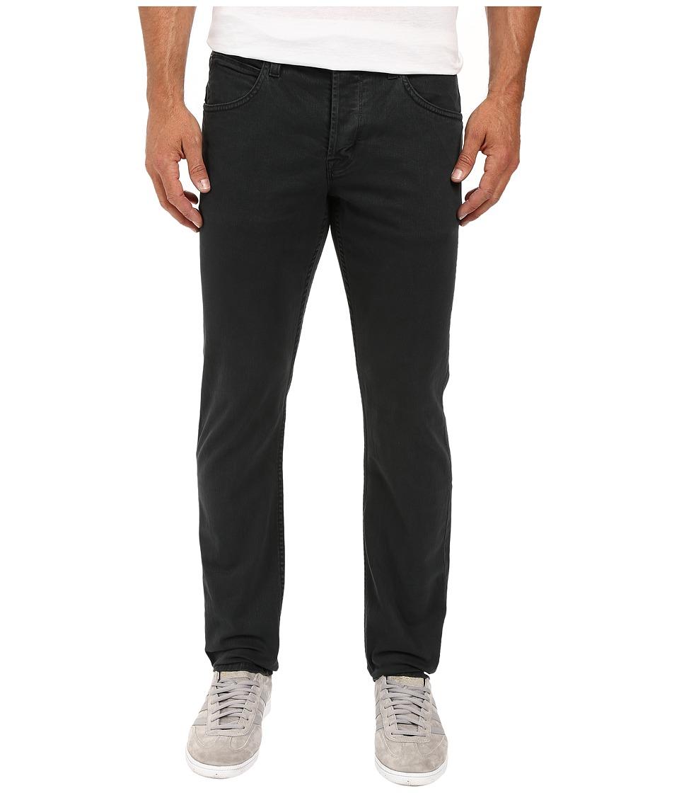 Hudson Blake Slim Straight Denim Twill Jeans in Tarnished Steel (Tarnished Steel) Men