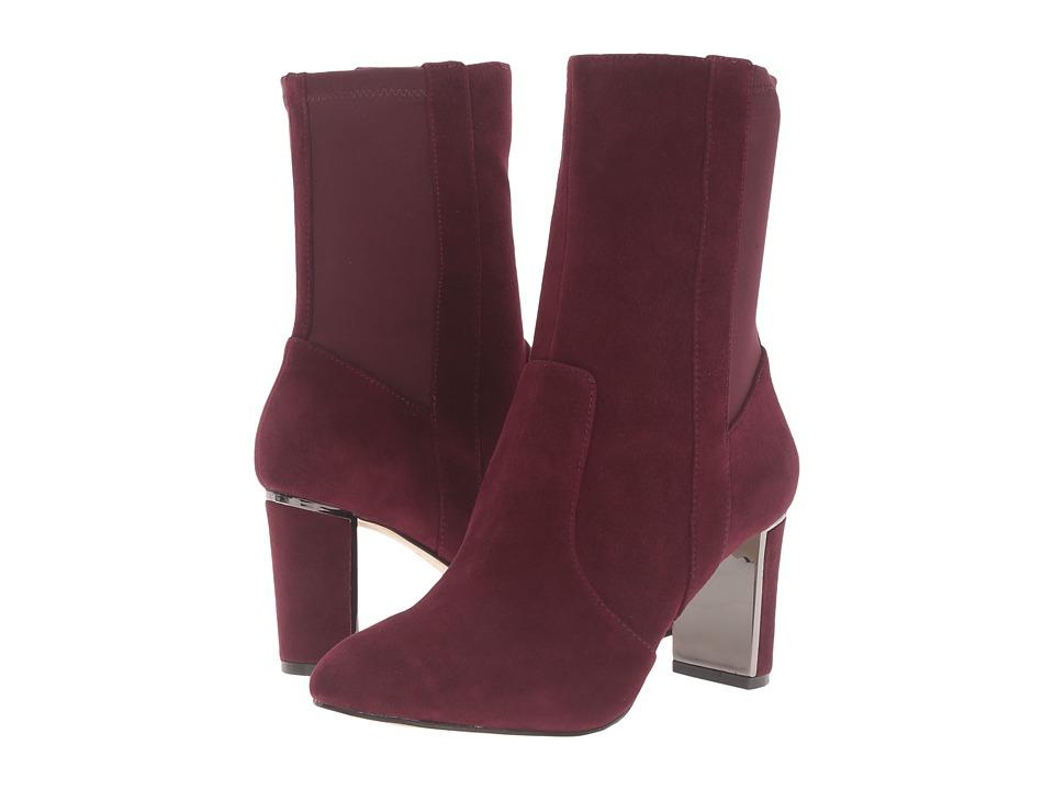 Tahari - Ciel (Wine Suede) Women's Shoes