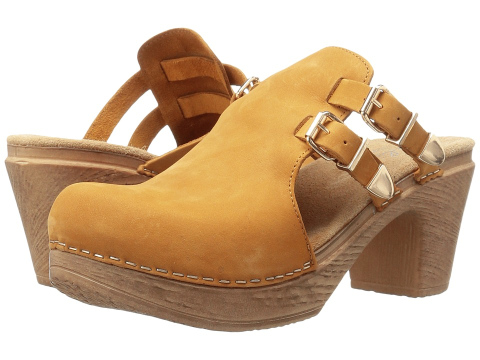 Calou Stockholm - Katty (Mustard) Women's Shoes