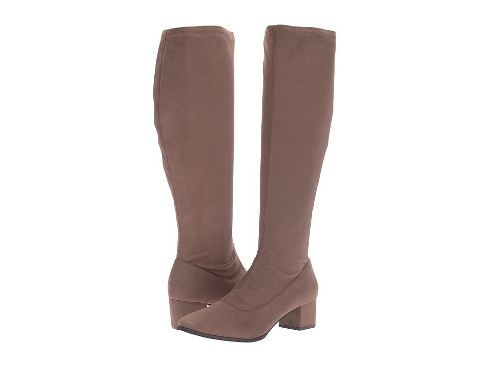 Tahari - Gideon (Truffle Stretch Suede) Women's Shoes