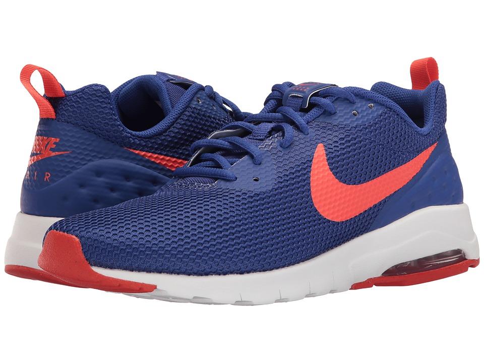 Nike - Air Max Motion Low SE (Deep Night/White/Max Orange) Men's Shoes