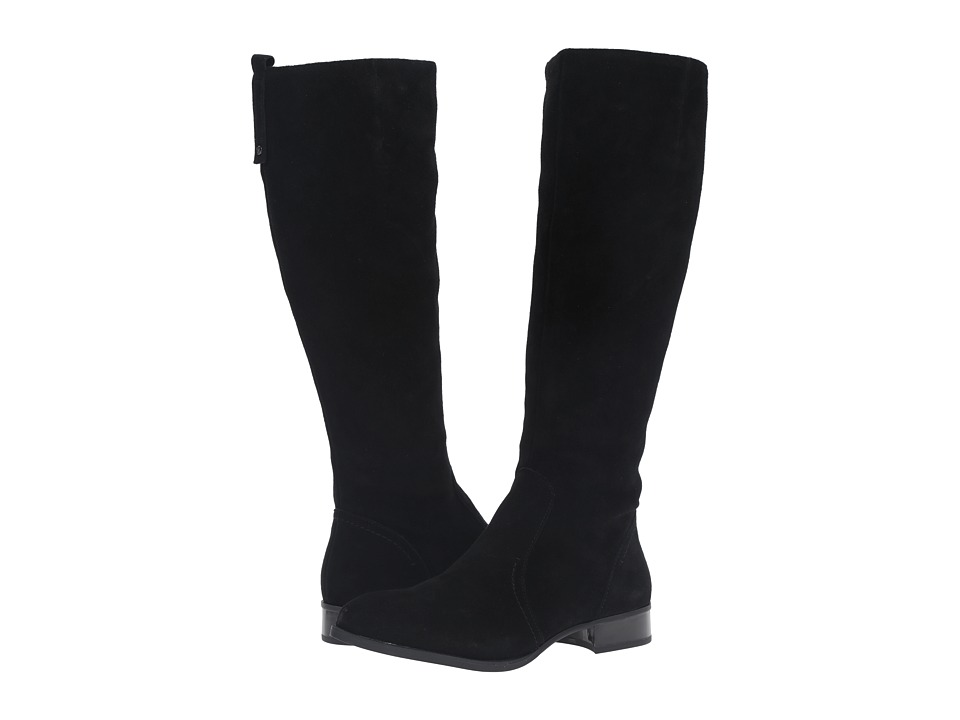 Nine West - Nicolah (Black Suede) Women's Dress Zip Boots
