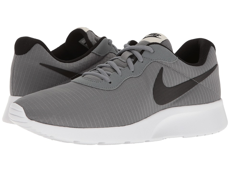 Nike - Tanjun Premium (Cool Grey/White/Light Bone/Black) Men's Shoes