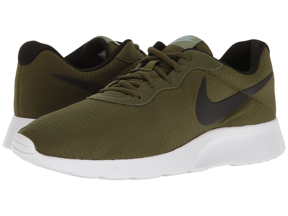 Nike - Tanjun Premium (Legion Green/White/Palm Green/Black) Men's Shoes