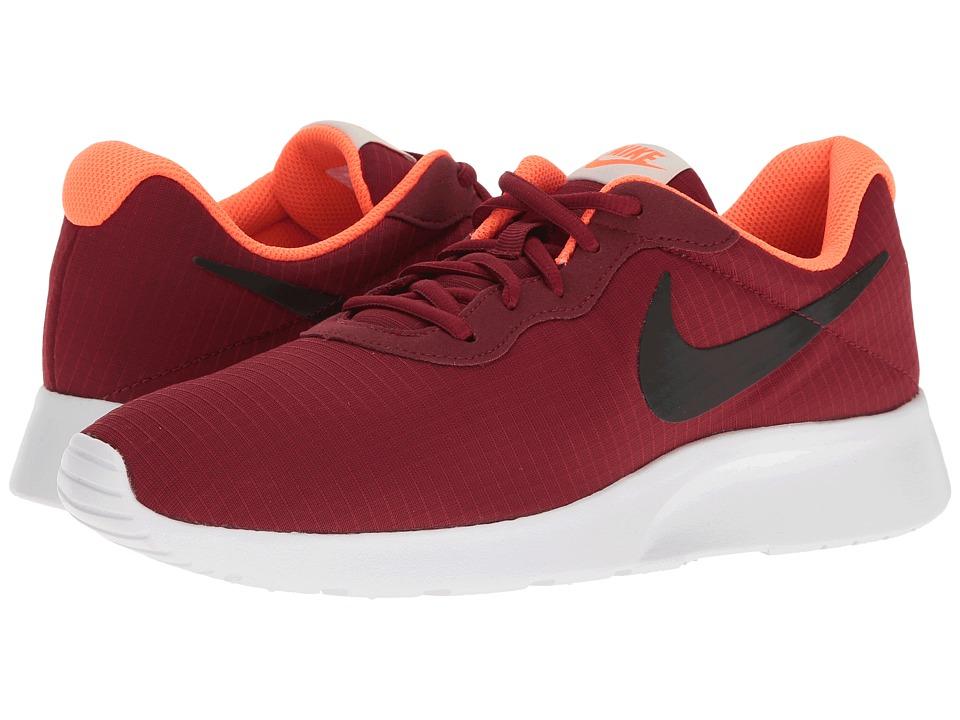 Nike - Tanjun Premium (Team Red/White/Light Bone/Black) Men's Shoes