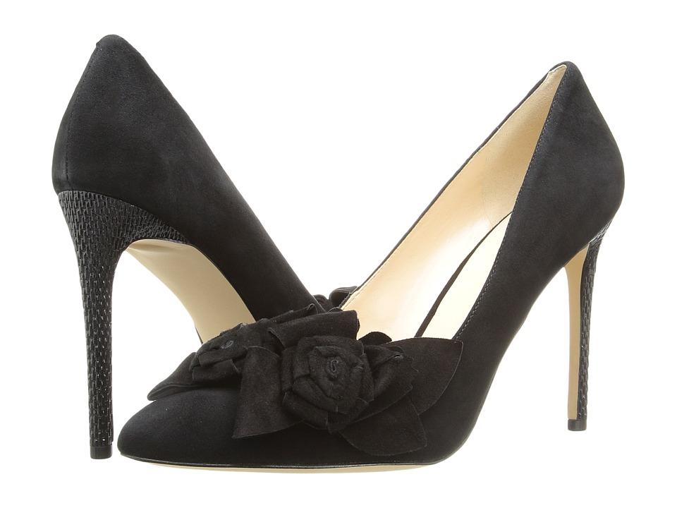 Nine West - Oakima (Black Suede) High Heels