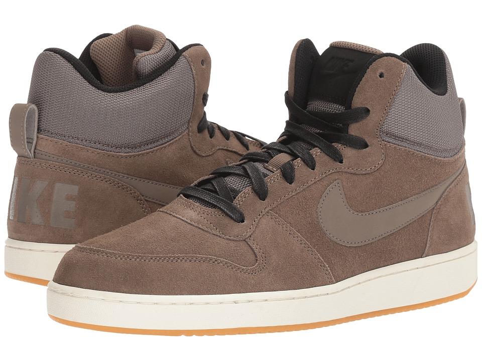 Nike - Recreation Mid Prem (Dark Mushroom/Black/Sail/Dark Mushroom) Men's Basketball Shoes