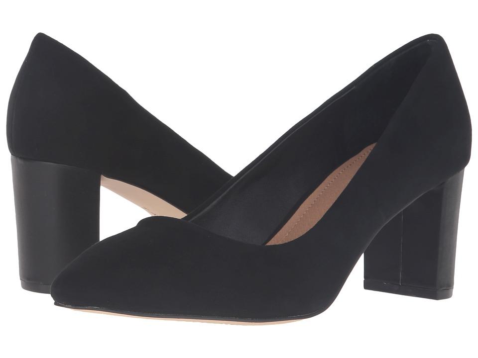 Tahari - Tallie (Black Suede) Women's Shoes