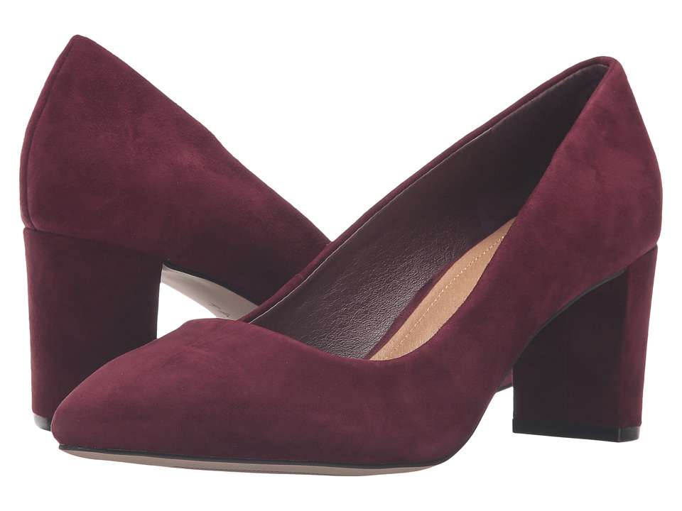 Tahari - Tallie (Wine Suede) Women's Shoes