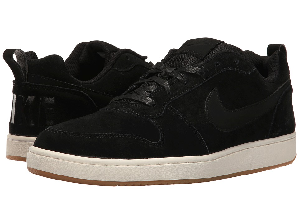 Nike - Recreation Low Prem (Black/Sail/Gum Light Brown/Black) Men's Basketball Shoes