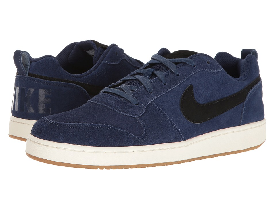 Nike - Recreation Low Prem (Binary Blue/Sail/Gum Light Brown/Black) Men's Basketball Shoes