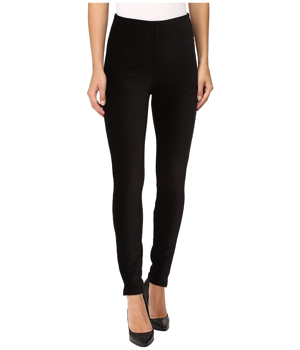 Lysse - Corduroy Skinny (Black) Women's Casual Pants