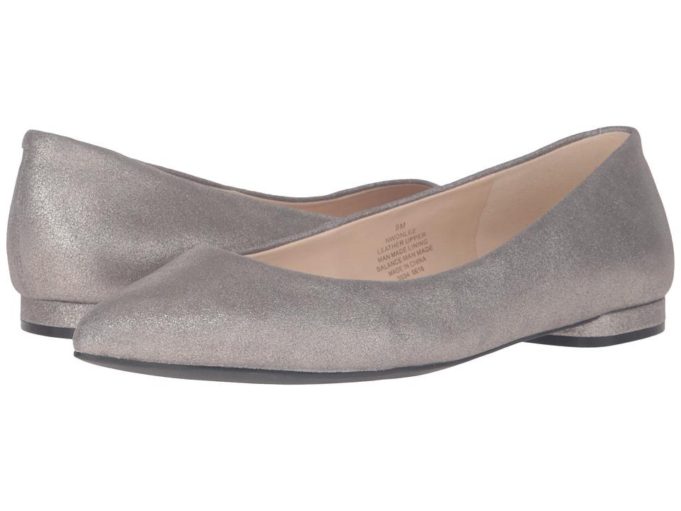 Nine West - Onlee (Grey/Pewter Metallic) Women's Shoes