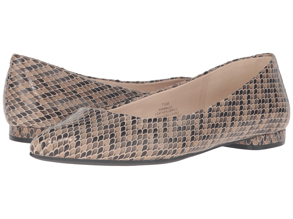 Nine West - Onlee (Taupe Multi Reptile) Women's Shoes