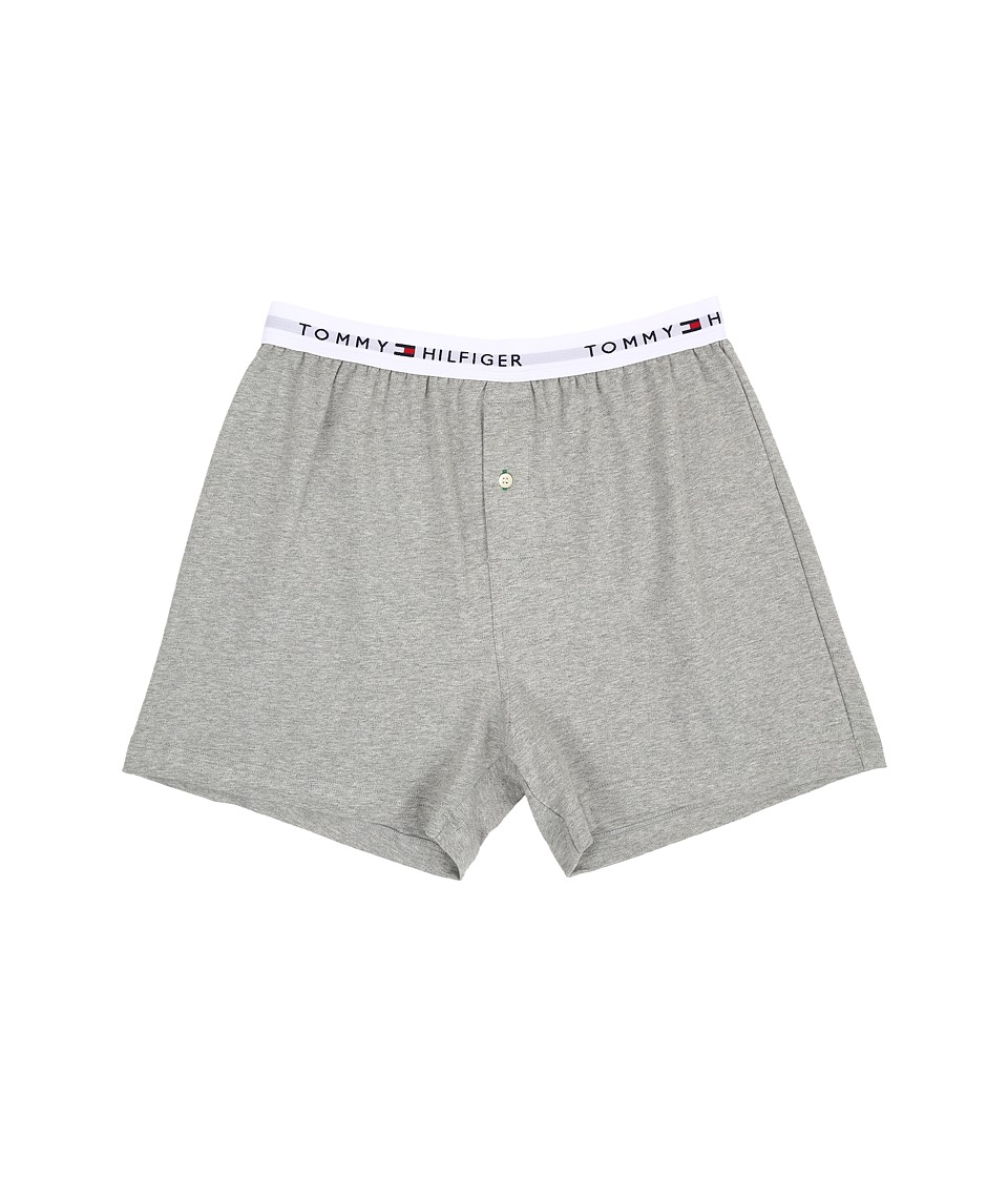 Tommy Hilfiger - Athletic Knit Boxer (Grey Heather) Men's Underwear