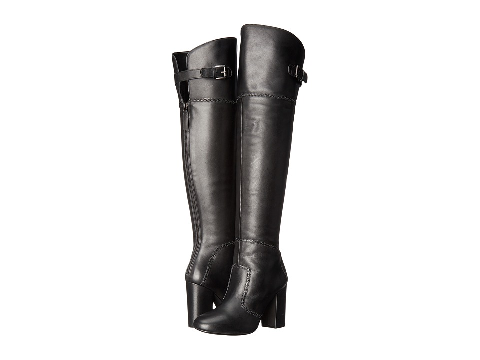 Nine West Jena (Black Leather) Women
