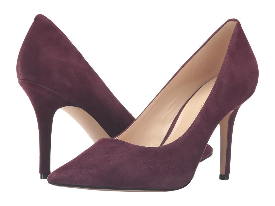 Nine West - Jackpot (Wine Suede) High Heels