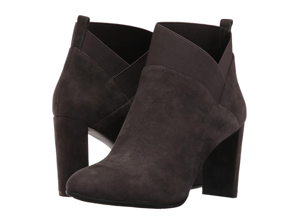 Nine West - Kalette (Dark Grey/Dark Grey Suede) Women's Shoes