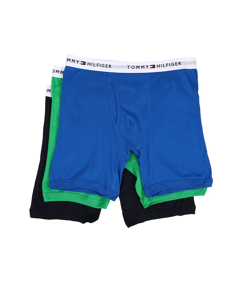 Tommy Hilfiger - Cotton Boxer Brief 3-Pack (Sprout) Men's Underwear
