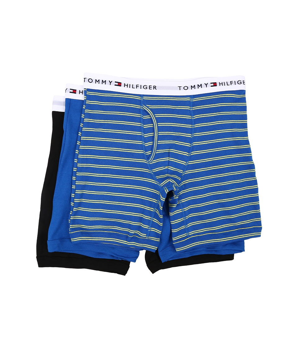 Tommy Hilfiger - Cotton Boxer Brief 3-Pack (Lemon) Men's Underwear